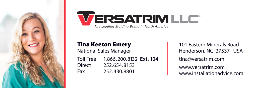 Versatrim Laminate Molding Meet Your Sales Rep