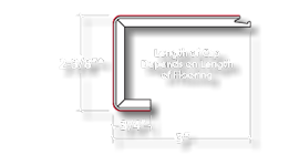 Image shows the  VersaCap Round dimensions